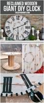 touret bois deco les 92 meilleures images du tableau horloge sur pinterest