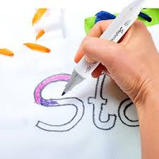 amazon com fabric markers unitystar 21 permanent colors art