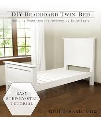 diy twin beds with corner unit home beds decoration