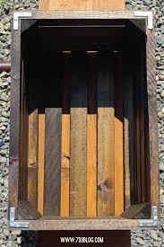 Wooden Crate Nightstand Diy Crate Nightstands Inspiration Made Simple