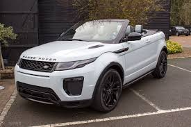 range rover evoque rear range rover evoque convertible pictures packed with tech you didn