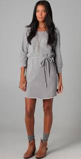 love the short heeled boots with dresses style pinterest