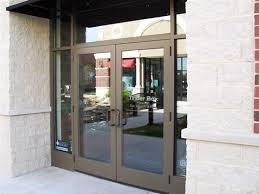 store front glass doors kelly glass inc door gallery peoria il