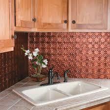 interior copper tile backsplash for specks protector kitchen