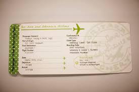 invitation design programs plane ticket invitations passport programs and luggage tag