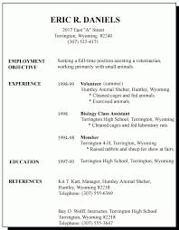 employment resume template time resume template resume template resume