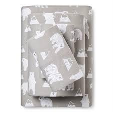 target easton black friday pictures polar bear flannel sheet set pillowfort target mcrae