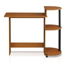 Small Computer Desk With Shelves Zipcode Design Meagan Compact Computer Desk Reviews Wayfair