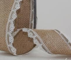 burlap and lace ribbon 18 best burlap lace images on burlap lace burlap