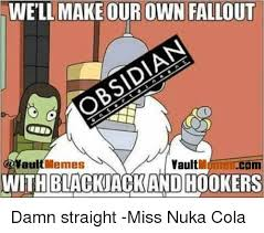 Make Your Own Meme Comic - well make our own fallout memes vault au withblackjackand hookers