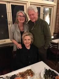 the clintons out for a cruise still4hill