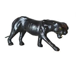 black panther statue etsy