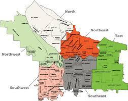 Denver Neighborhoods Map Homes For Sale In Portland North Skyblue Portland