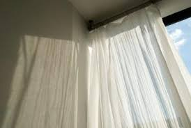 Hang Curtain From Ceiling Decorating Curtain Decorating Tricks To Make A Ceiling Seem Higher Home