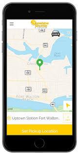 Fort Walton Beach Map Airport Shuttle Destin Taxi U0026 Limousine Service Panama City