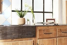 caisson cuisine bois meuble cuisine en bois brut awesome cuisine meuble cuisine bois
