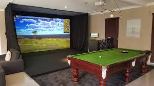 residential golf simulator