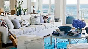coastal livingroom colorful cozy spaces coastal living