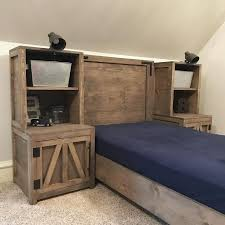 free bedroom furniture plans 13 home decor i image every cute bed needs a cute nightstand tower or 2 love a