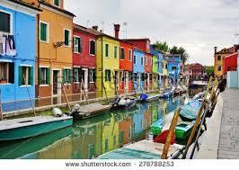 Burano Italy Burano Italy Sunrise Stock Photo 126993392 Shutterstock