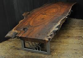 live edge walnut coffee table dorset custom furniture a woodworkers photo journal a live edge