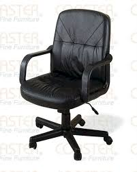 Black Leather Office Chair Coaster Fine Furniture Guest Office Chair Atg Stores Furniture