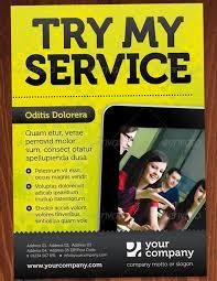 10 best images of messenging service sample business flyer