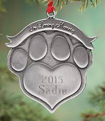 personalized remembrance ornaments pet memorial ornament personalized home kitchen