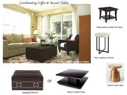 Livingroom End Tables How To Coordinate Coffee U0026 Accent Tables Like A Designer Maria