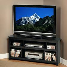 Black Corner Tv Cabinet With Doors Tv Stand With Cabinet U2013 Effluvium Us