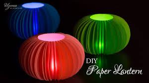diy diwali decoration ideas paper lantern lampshade youtube
