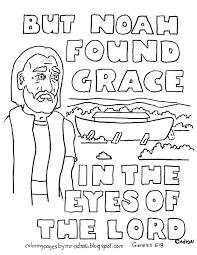 coloring pages for kids by mr adron noah and the ark scripture