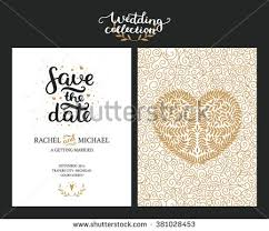 digital save the date save date cards wedding invitation stock vector 454140961