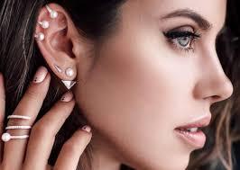 pierced ears without earrings types of ear piercings mr mrs magazine