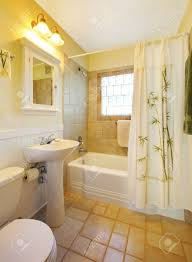 White And Beige Bathrooms Small Beige Bathroom With Walk In White Shower And White Cabinet