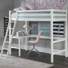 Study Bunk Bed Harriet Bee Felipe Bunk With Study Loft Reviews Wayfair