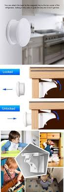 hidden magnetic cabinet locks adoric baby safety magnetic cabinet locks 6 locks 2 keys no
