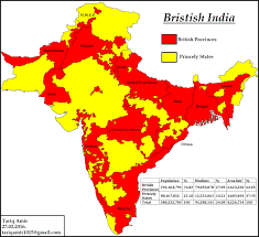 Bombay India Map by Pakistan Geotagging Muslim Princely States Of India