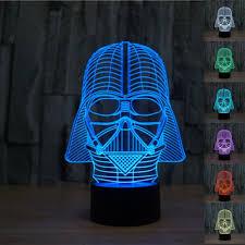 Star Wars Office Decor by 3d Star Wars Darth Vader Led Light Table Lamp Night Light Kids