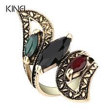 aliexpress buy size 7 10 vintage retro cool men aliexpress buy fashion 2016 vintage big ring antique gold