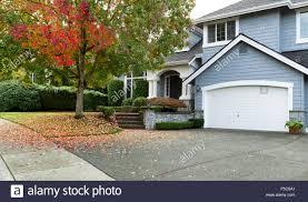 detached house usa large single family modern usa house with