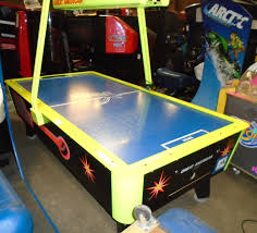 Great American Laser Air Hockey 8 Foot Table Coin Op Can Be Set On Free Play 3 Jpg 1525863222708