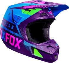 fox motocross kit 184 49 fox racing special edition v2 vicious helmet 260850