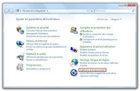 si e informatique ergonomique windows 7 activer le narrateur pour lire un texte affiché à l