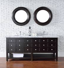 vancouver 72 in single vanity w drawers cerused espresso oak