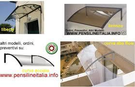pensilina tettoia in policarbonato plexiglass pensilina tettoia cappottina copriporta in policarbonato plexiglas