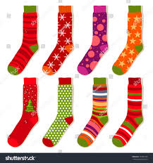 vector christmas stockings stock vector 159301454 shutterstock