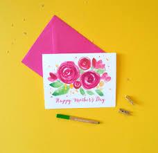 floral bursts mother u0027s day cards custom invitations unique