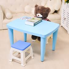 plastic play table and chairs children s plastic table chair kids foam colorful multifunctioal
