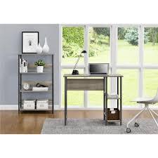 Grey And Oak Furniture Altra Furniture Garrett Sonoma Oak Desk 9254196com The Home Depot